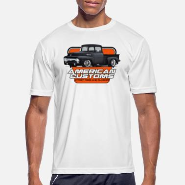 Ford Truck american_customs_f100 - Men's Sport T-Shirt