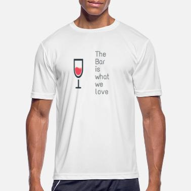 Bar Hop The bar - Men's Sport T-Shirt