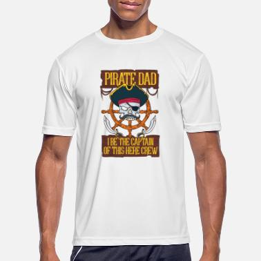 Roger PIRATES: Pirate Dad - Men's Sport T-Shirt