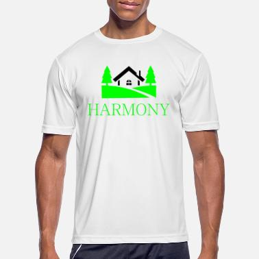 Countryside home in the countryside - Men's Sport T-Shirt