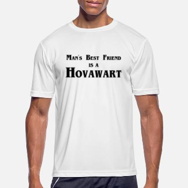 Man's Best Friend is a Hovawart - Men's Sport T-Shirt