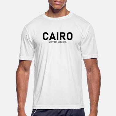 City Of Light Cairo - City of Lights - Egypt - Africa - Men's Sport T-Shirt