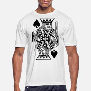 Spades King of Spades - Men's Sport T-Shirt
