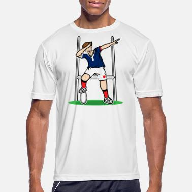 France Dabbing France Rugby Player | 2019 Fans Kit for - Men's Sport T-Shirt