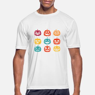 Halloween Pumpkin - Men's Sport T-Shirt
