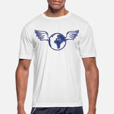 Injustice earth with wings - Men's Sport T-Shirt