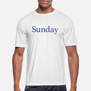 Week Sunday - Day of the week - Men's Sport T-Shirt