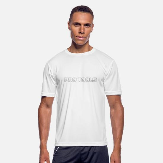 Tools T-Shirts - pro tools - Men's Sport T-Shirt white