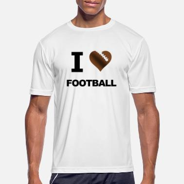 I Love Football I Love Football - Men's Sport T-Shirt