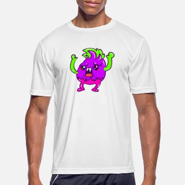 Angry Scaring Monster - Men's Sport T-Shirt