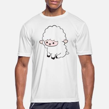 Meaty Woolly, meaty, sheeps - Men's Sport T-Shirt