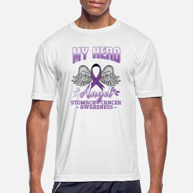 Stomach My Hero Is Now My Angel - Men's Sport T-Shirt