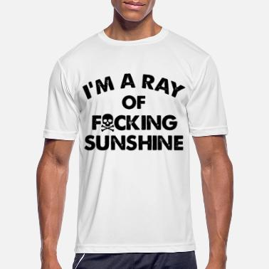 Sunshine i m a ray of fucking sunshine tattoo - Men's Sport T-Shirt