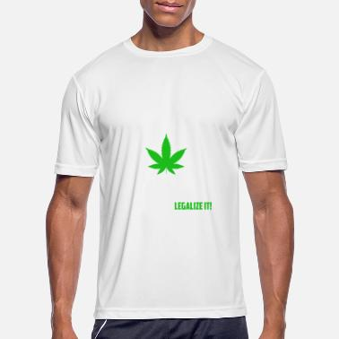 Yes We Cannabis Yes we cannabis legalize it - Men's Sport T-Shirt