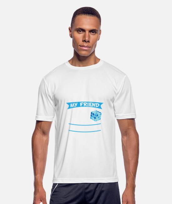 Game T-Shirts - Magic Cube My Friend - Limited Edition - Men's Sport T-Shirt white