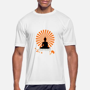 yoga namaste spiritual om zen india meditation - Men's Sport T-Shirt