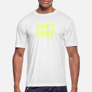 Brutality Don't Shoot Black Lives Matter print - Men's Sport T-Shirt