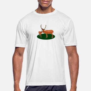 Occassionally Nice antlers, deer! - Men's Sport T-Shirt