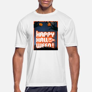 Happy Halloween Horror Design - Men's Sport T-Shirt