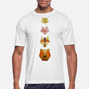 Forest Animal Geometric forest animals - Men's Sport T-Shirt