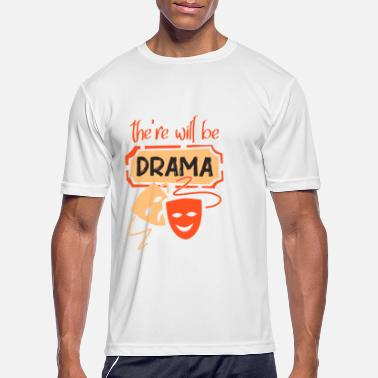 Trara Theatre Opera Gift Stage Actor Ensemble - Men's Sport T-Shirt