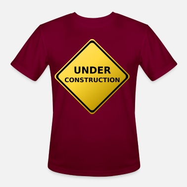 Signs Under Construction Sign - Men's Sport T-Shirt