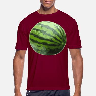 Inflated Oval Watermelon - Men's Sport T-Shirt