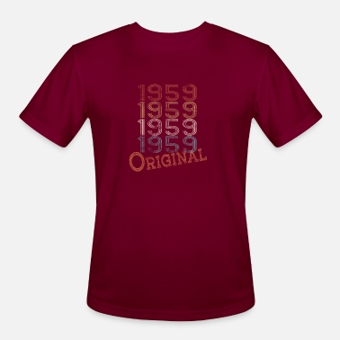 1959 born in 1959 legend of original birthday gift - Men's Sport T-Shirt