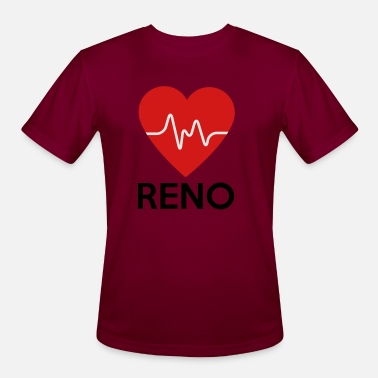 Renos Heart Reno - Men's Sport T-Shirt