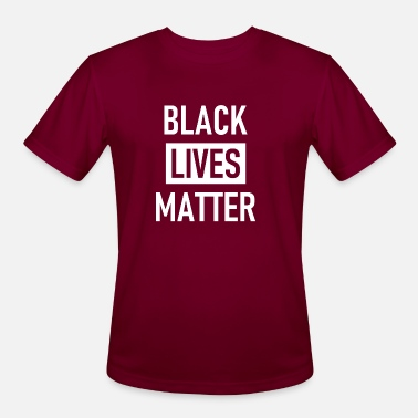 Black Lives Matter - Stop Racism - USA - BLM - Men's Sport T-Shirt