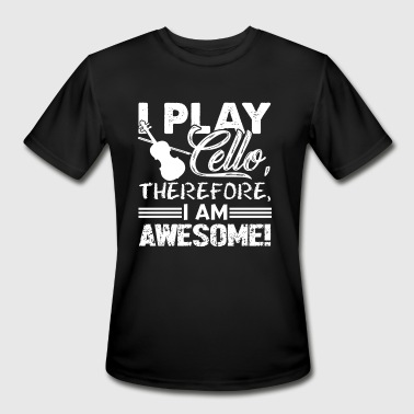 I Play Cello I PLAY CELLO SHIRT - Men's Moisture Wicking Performance T-Shirt