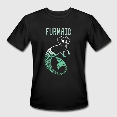 Furmaid mermaid - Men's Moisture Wicking Performance T-Shirt