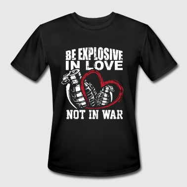 Make Love not War - Men's Moisture Wicking Performance T-Shirt