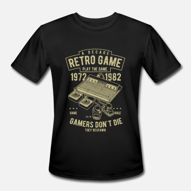 Typical Decade Retro Games - Funny Gamer Shirt Gift - Men's Moisture Wicking Performance T-Shirt