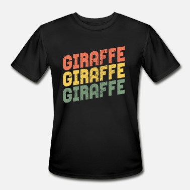 Giraffe Design GIRAFFE GIRAFFE GIRAFFE - Men's Moisture Wicking Performance T-Shirt