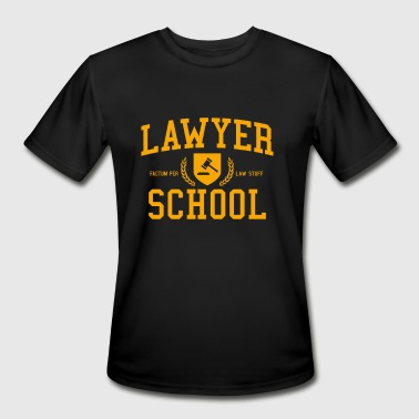 Lawyer Symbol LAWYER SCHOOL - Men's Moisture Wicking Performance T-Shirt