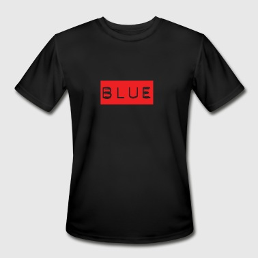 Rainbow White House Blue Text on Red - People will freak out! - Men's Moisture Wicking Performance T-Shirt