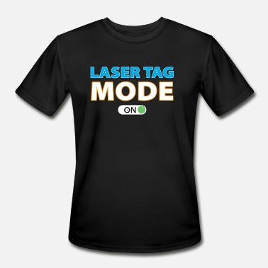 Laser Fun Laser Tag Mode On - Men's Moisture Wicking Performance T-Shirt