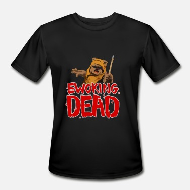 Ewoks Ewoking Dead - Men's Sport T-Shirt