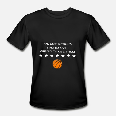 Basket Quotes Basketball Sport Cool Quote Gift Basket Fan - Men's Moisture Wicking Performance T-Shirt