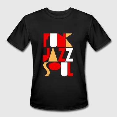 FUNK, JAZZ, SOUL - Men's Moisture Wicking Performance T-Shirt