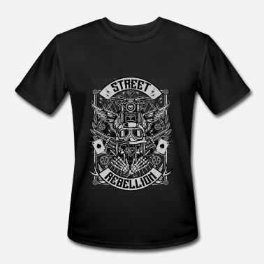 Modern Street Rebellion - Men's Moisture Wicking Performance T-Shirt