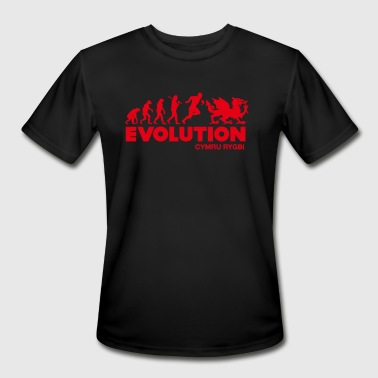 Welsh Rugby Evolution Welsh Rugby - Men's Moisture Wicking Performance T-Shirt