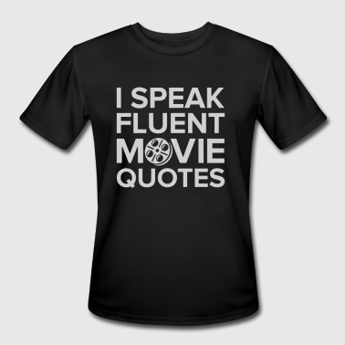 Movie Quotes - Men's Moisture Wicking Performance T-Shirt