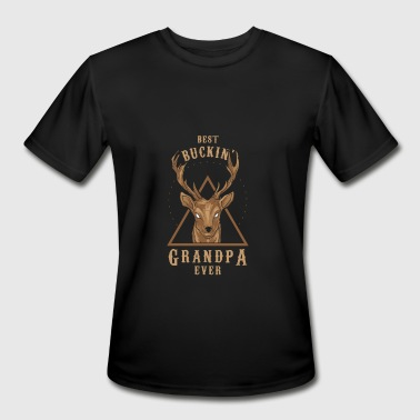 Fucking Grandfather Best Grandpa - Men's Moisture Wicking Performance T-Shirt