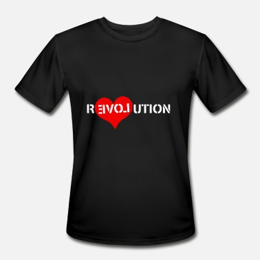 Love Revolution Revolution Of Love - Men's Moisture Wicking Performance T-Shirt