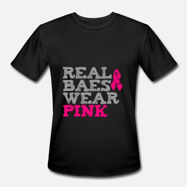 Real Wear Pink Real Baes Wear Pink - Men's Moisture Wicking Performance T-Shirt