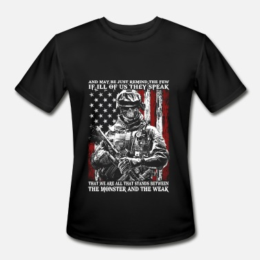 Us Army Veteran Veteran - All that stands between monster and we - Men's Sport T-Shirt