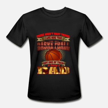 Basketball Love basketball dad love basketball - Men's Moisture Wicking Performance T-Shirt