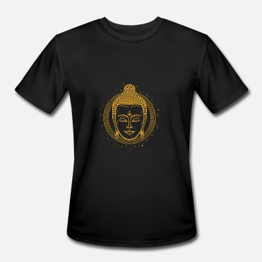 Buddha Head Buddha Head - Men's Moisture Wicking Performance T-Shirt